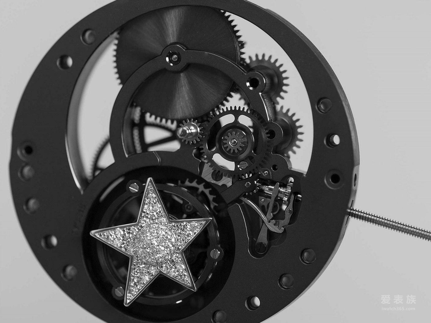 Chanel 2015 Pre-Basel 新表预览 J12镂空浮动式陀飞轮腕表