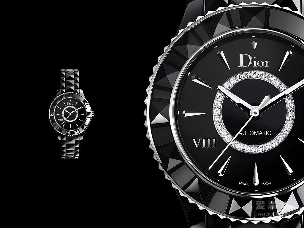 """迪奥的时尚"""" VIII""""——迪奥DIOR VIII系列手表"""