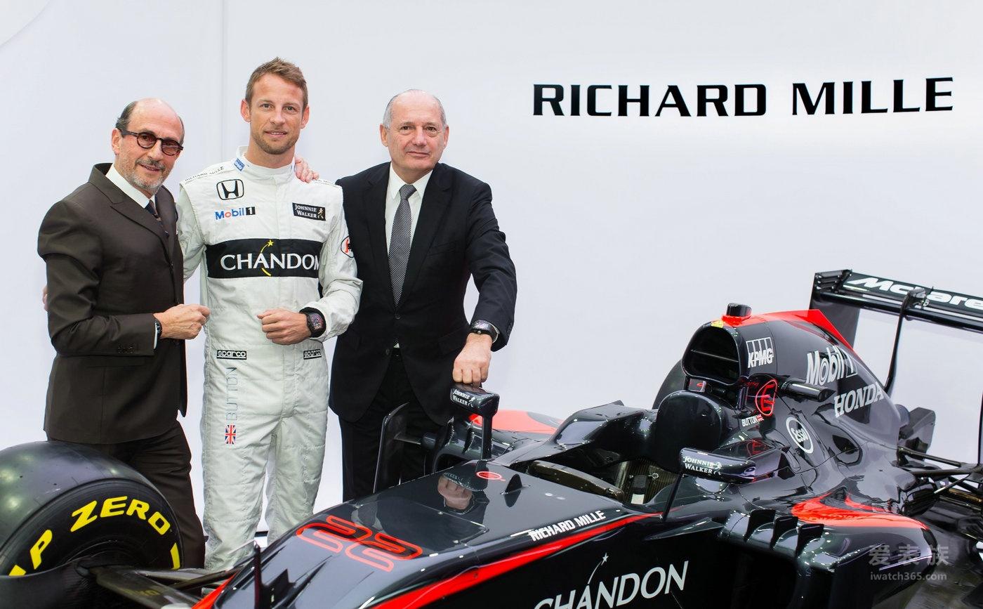 理查德米勒宣布携手与迈凯轮-本田的十年合作