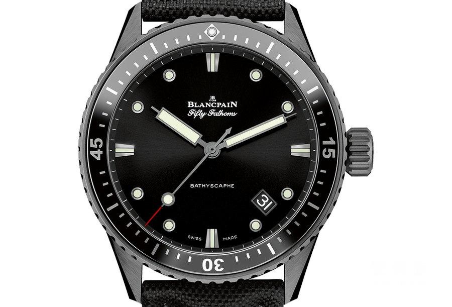 宝珀五十噚系列5000-0130-B52-B深潜器潜水