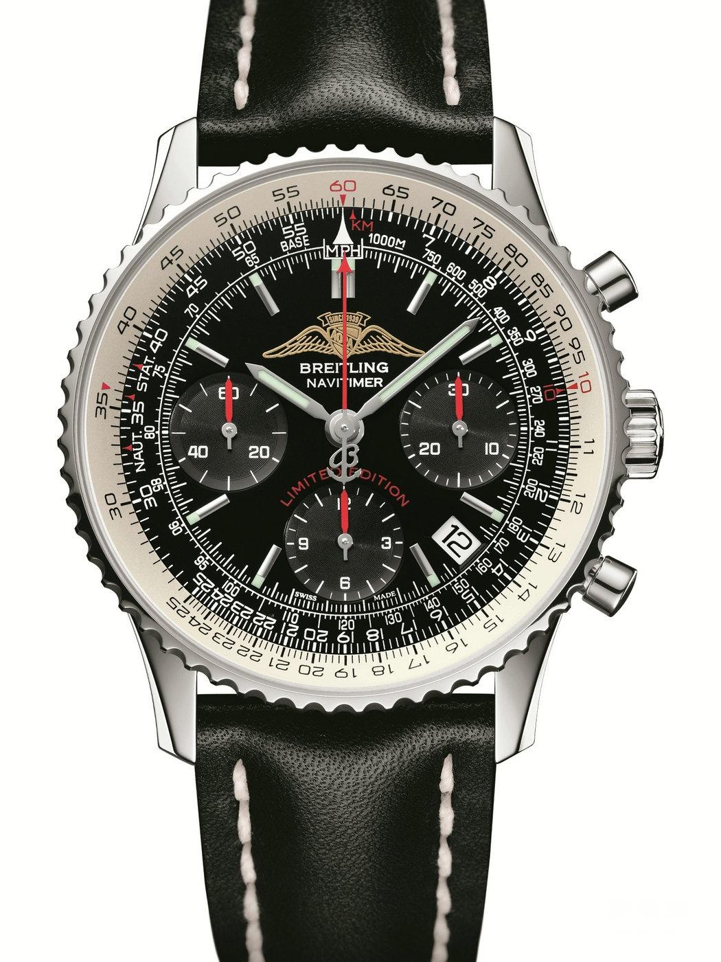 时代杰作,以时间铸就飞行传奇 -- 百年灵航空计时系列腕表(Navitimer)