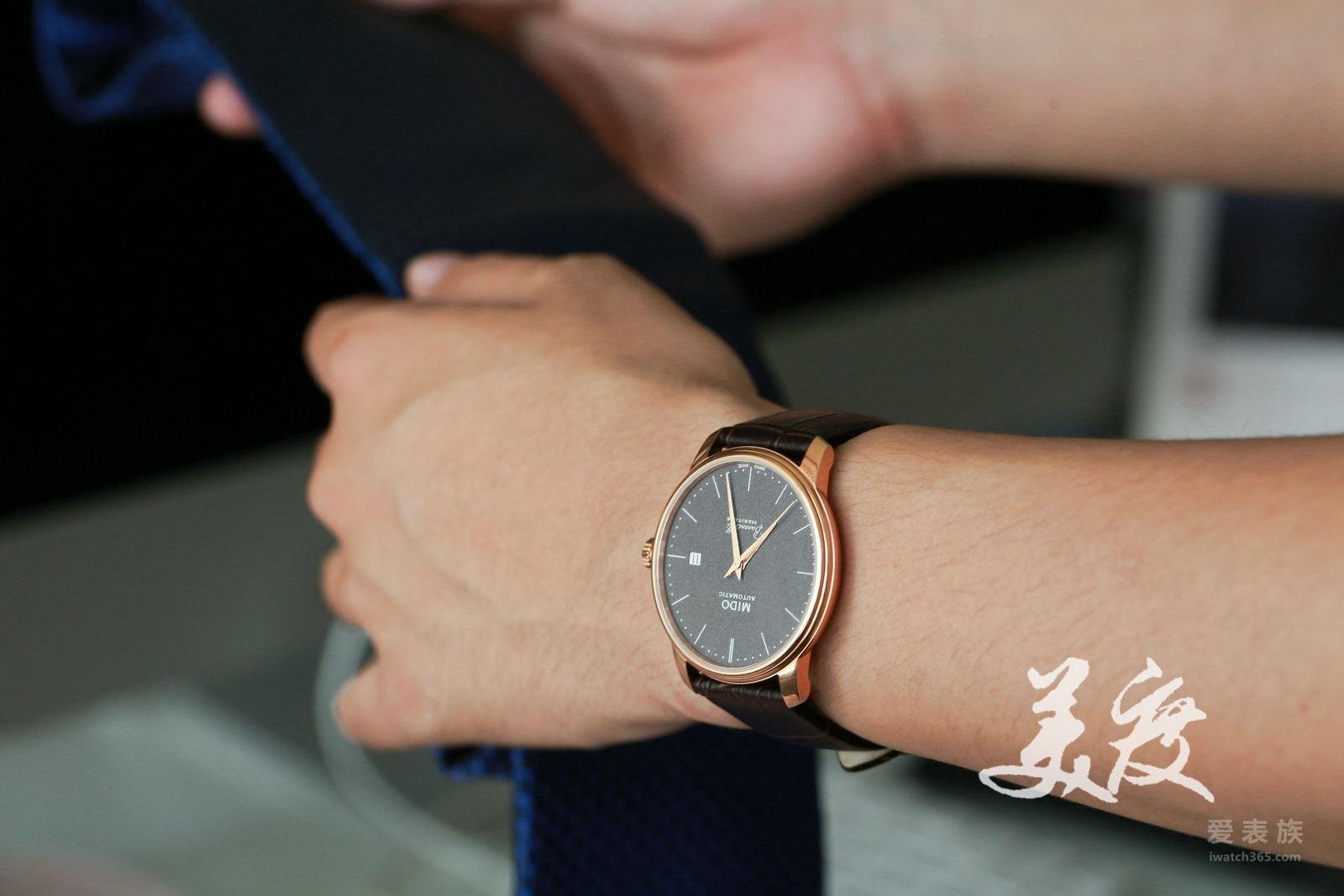 爱表评测 美度贝伦赛丽典藏系列纪念款超薄手表 佩戴篇