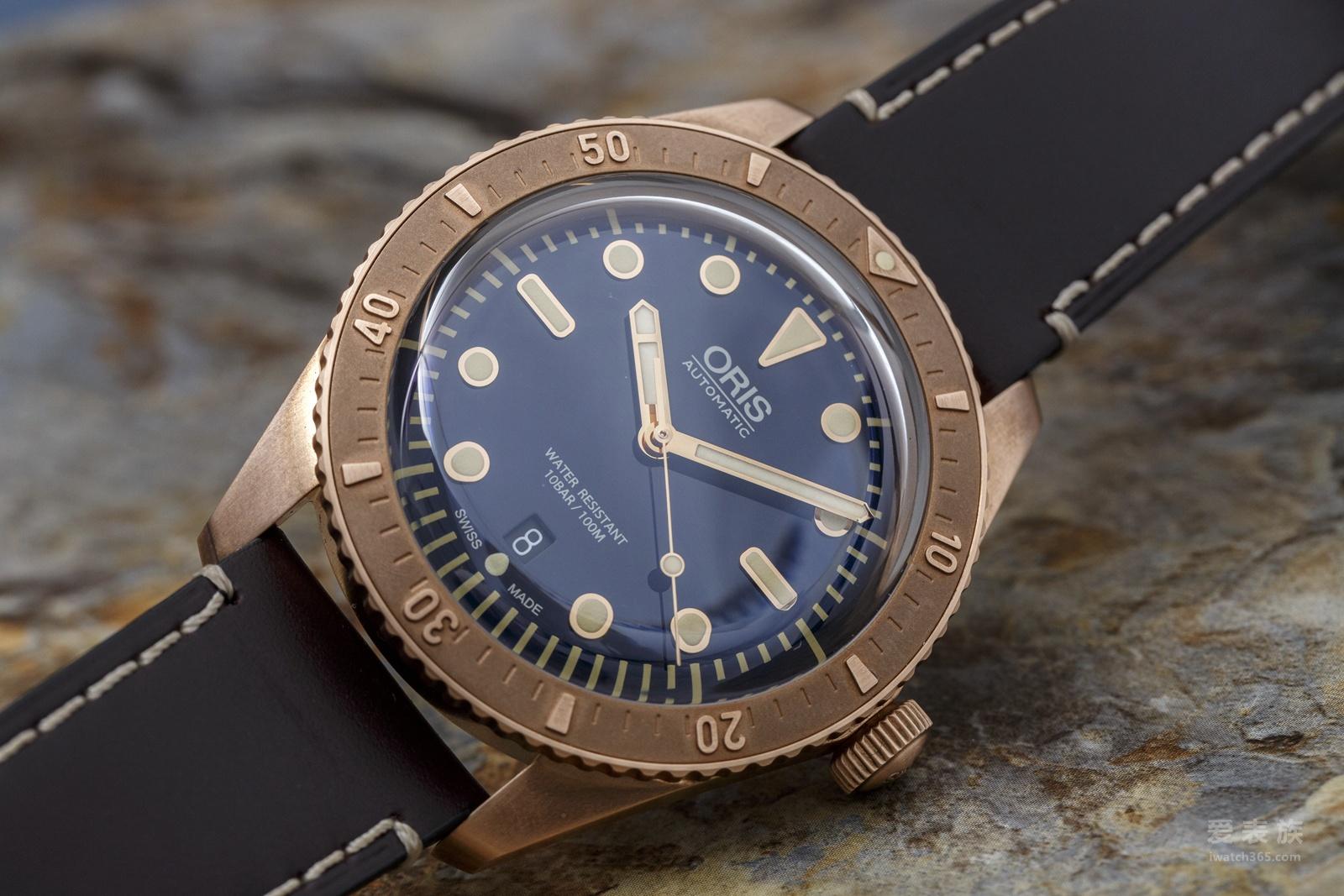 豪利时Carl Brashear限量青铜潜水腕表