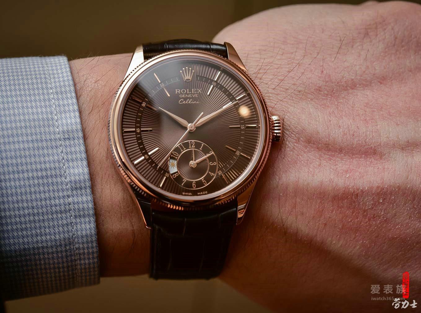 优雅的新王子——全新切利尼棕盘双时区腕表及蓝盘日历腕表