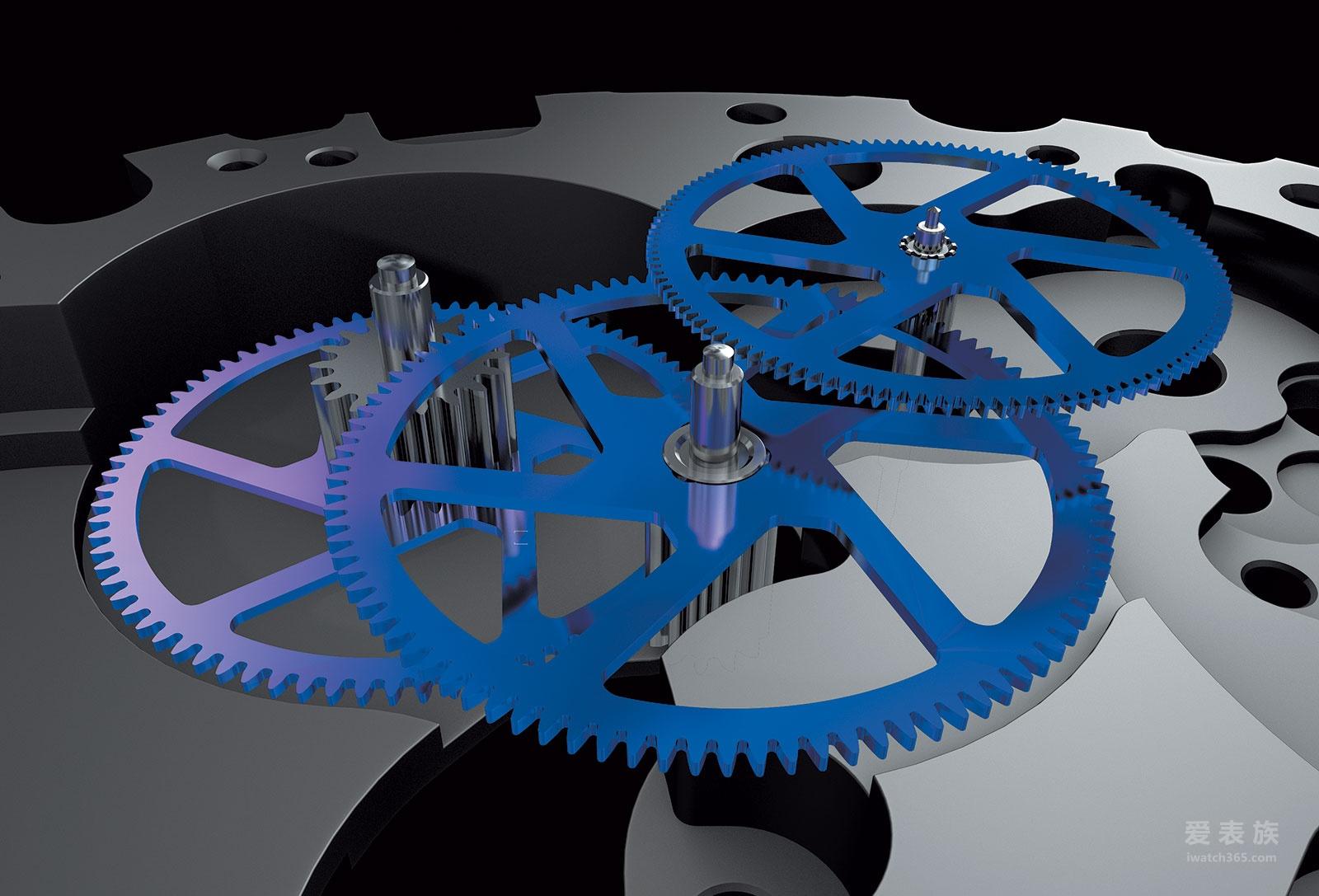 百年灵超级海洋文化CHRONOWORKS腕表
