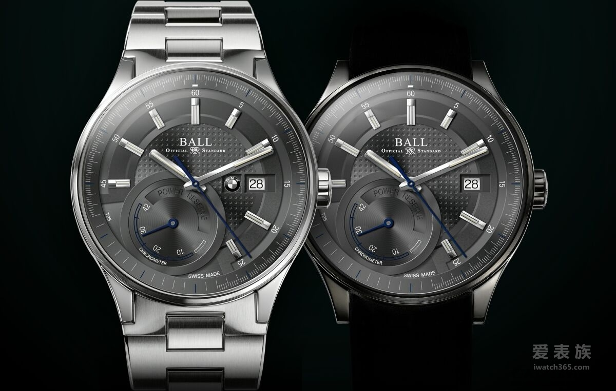 波尔以非凡时计BALL for BMW Power Reserve Chronometer向BMW卓越工程致敬