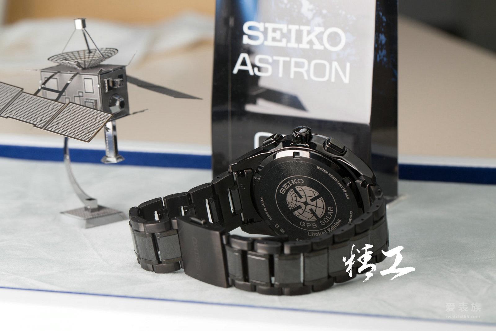 精工Astron系列GPS卫星定位太阳电能