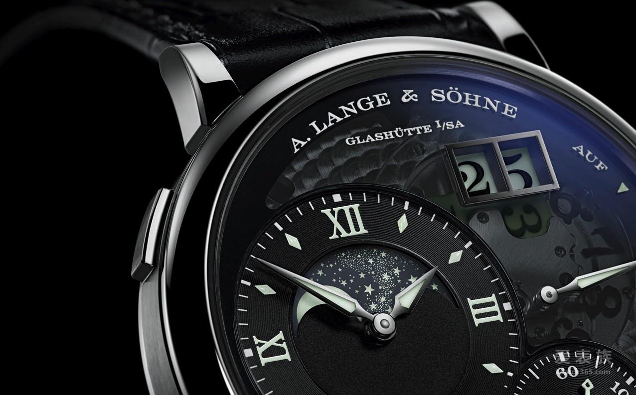 """朗格—就是这个光:A. Lange & Söhne推出 Grand Lange 1 Moon Phase """"Lumen"""""""