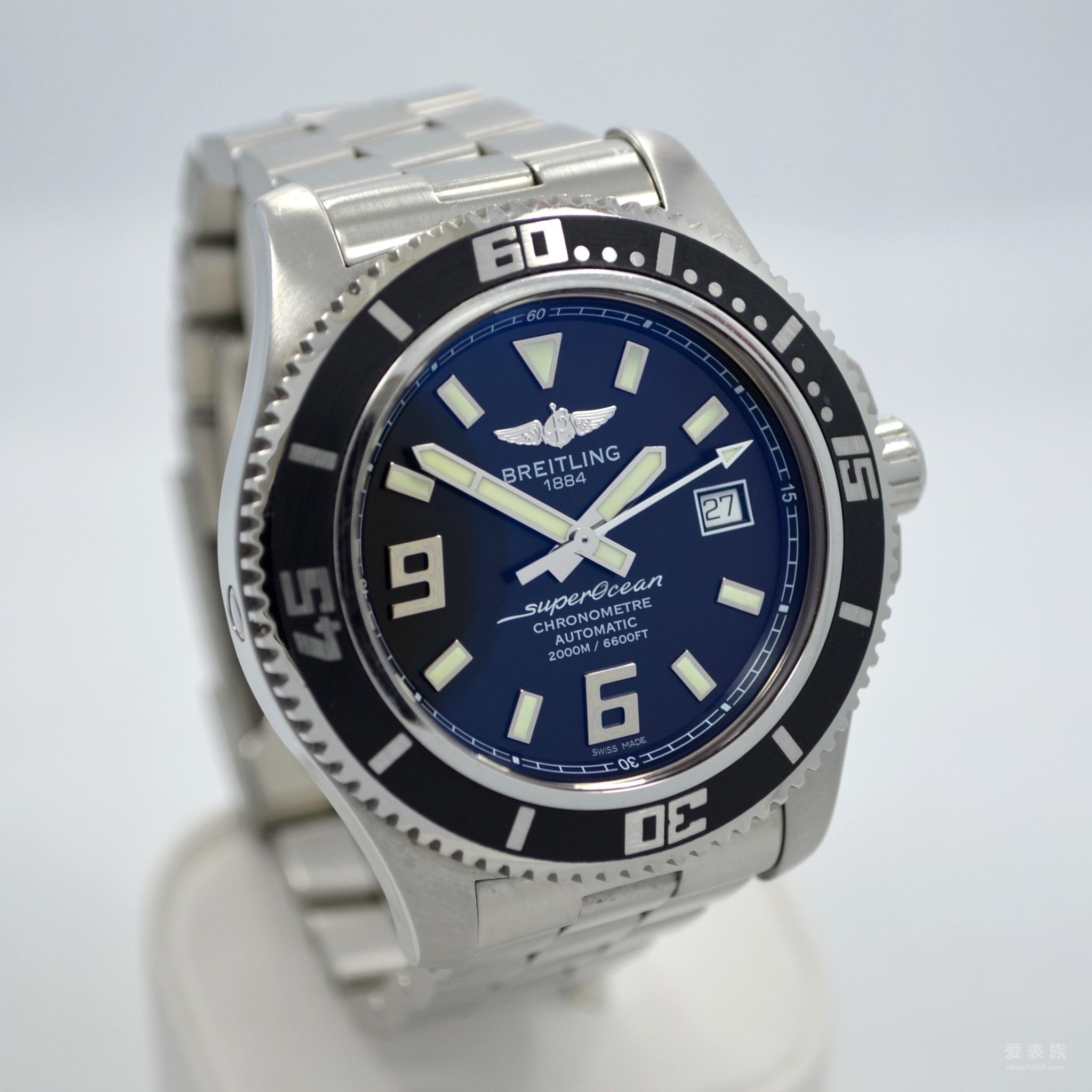 百年灵SuperOcean II超级海洋二代44腕表A17391