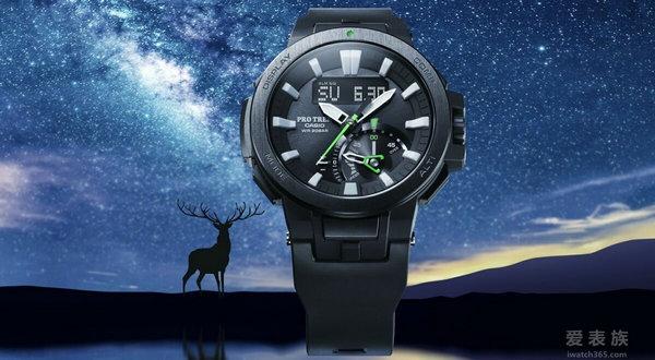 卡西欧——上山下海探索大自然的最佳首选:CASIO PRO TREK PRW-7000全新系列