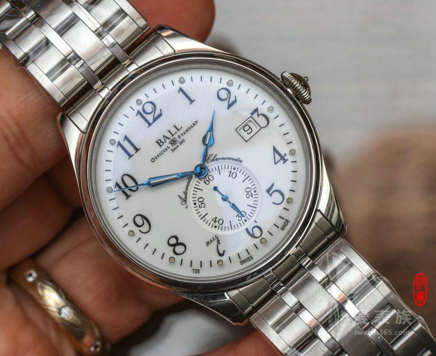 正装长官——2016波尔铁路长官系列标准时间腕表
