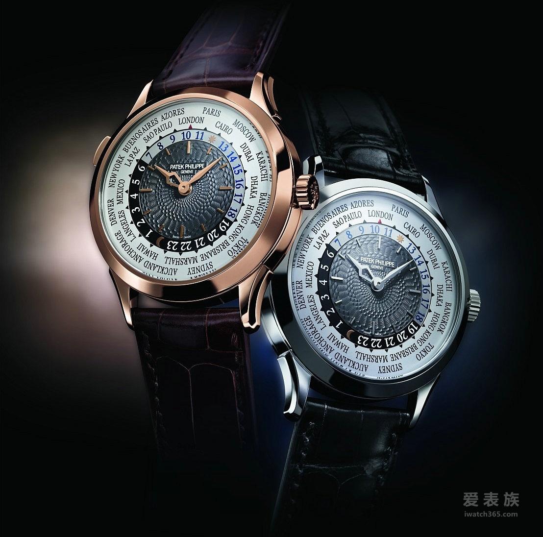 无畏时计的伟大探险:百达翡丽世界时间腕表与世界时间计时腕表