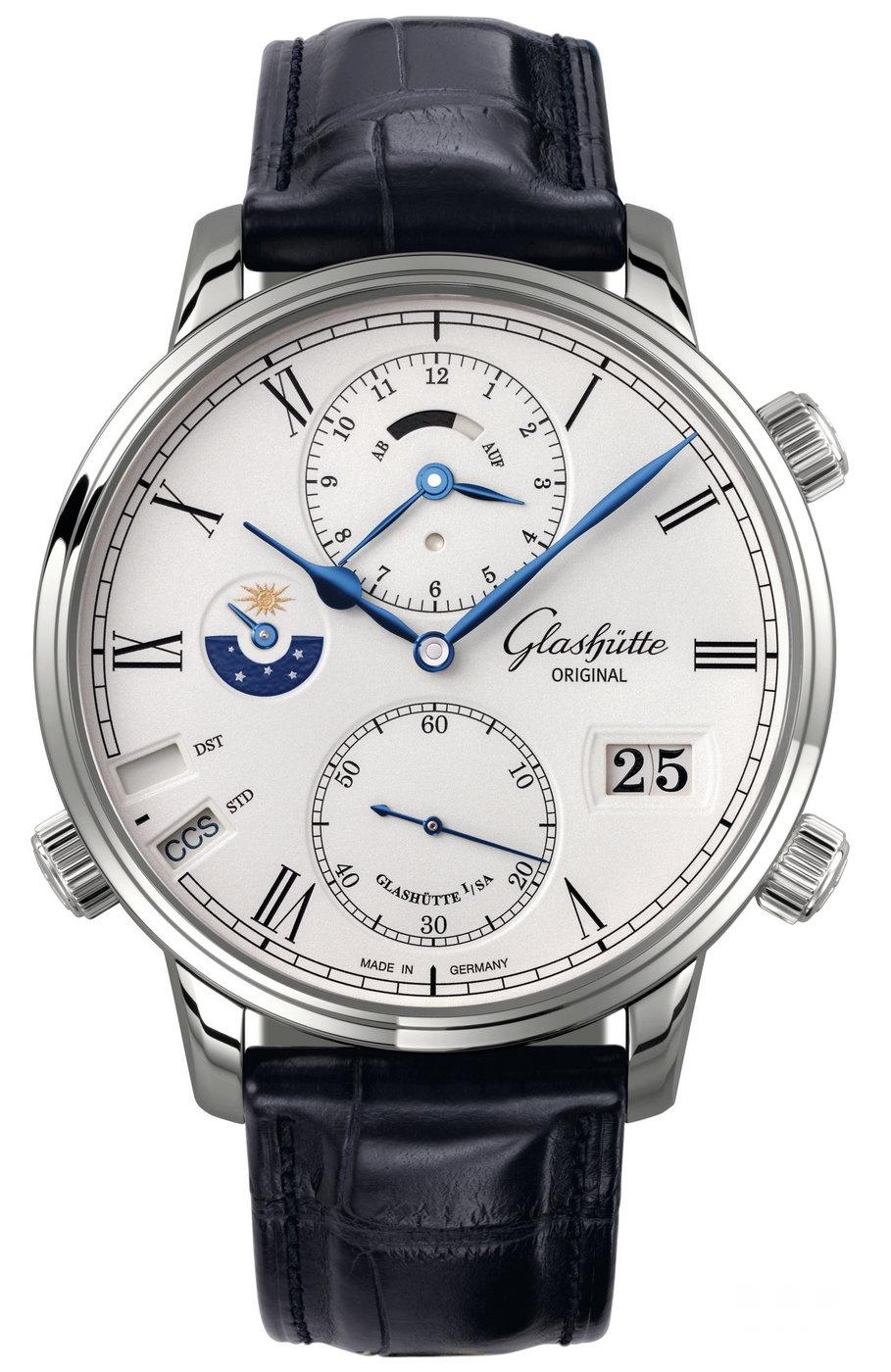 格拉苏蒂新款腕表 于太子珠宝钟表呈献的表坛盛事World Brand Piazza 2016型格登场