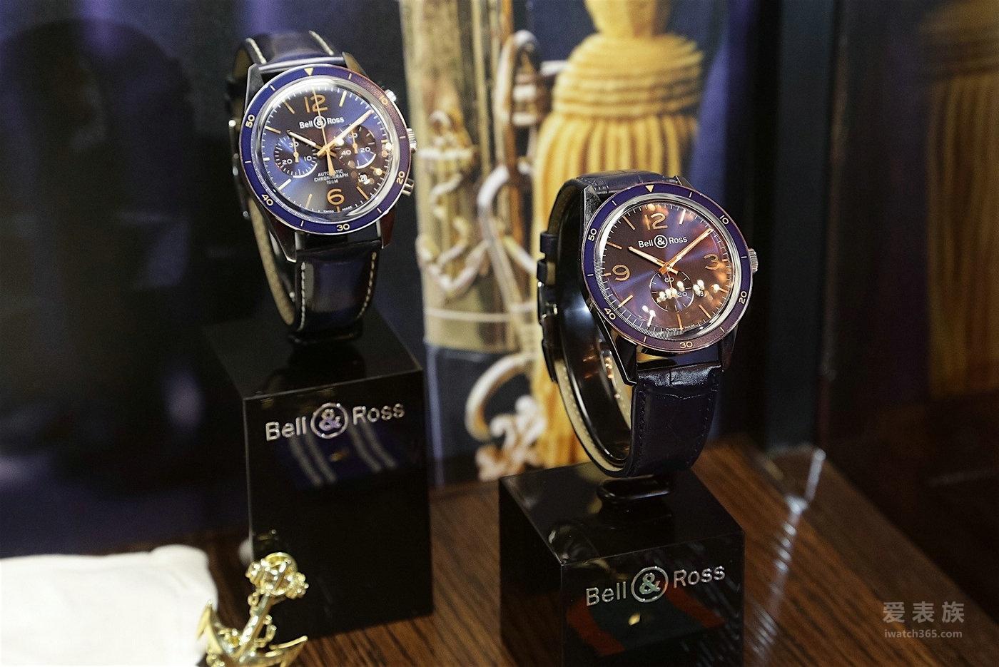 柏莱士——进军海洋,创意不断:Bell & Ross新作登场