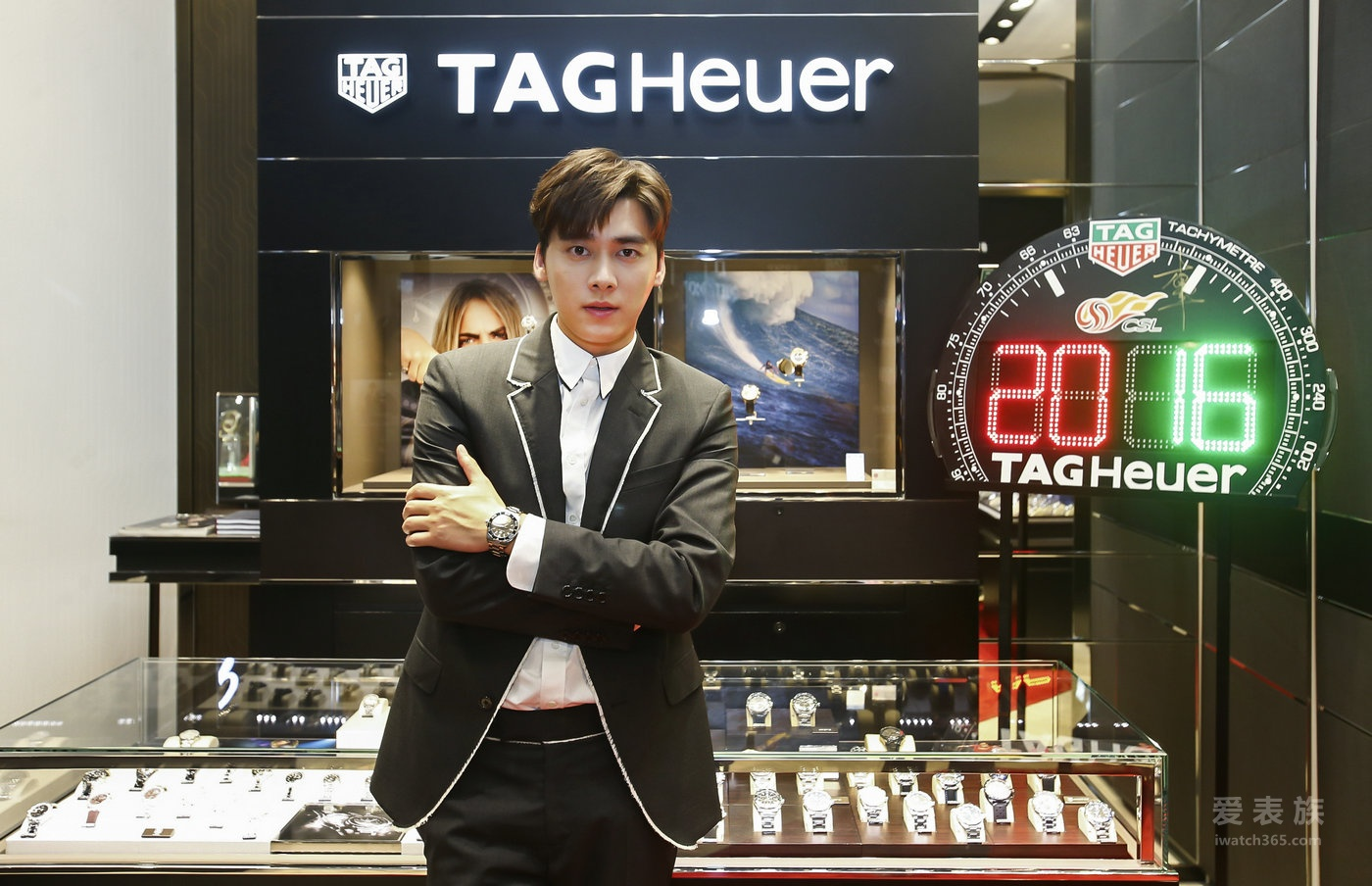 TAG Heuer泰格豪雅北京SKP精品店重装开幕 品牌大使李易峰亮相揭幕 见证荣耀升级