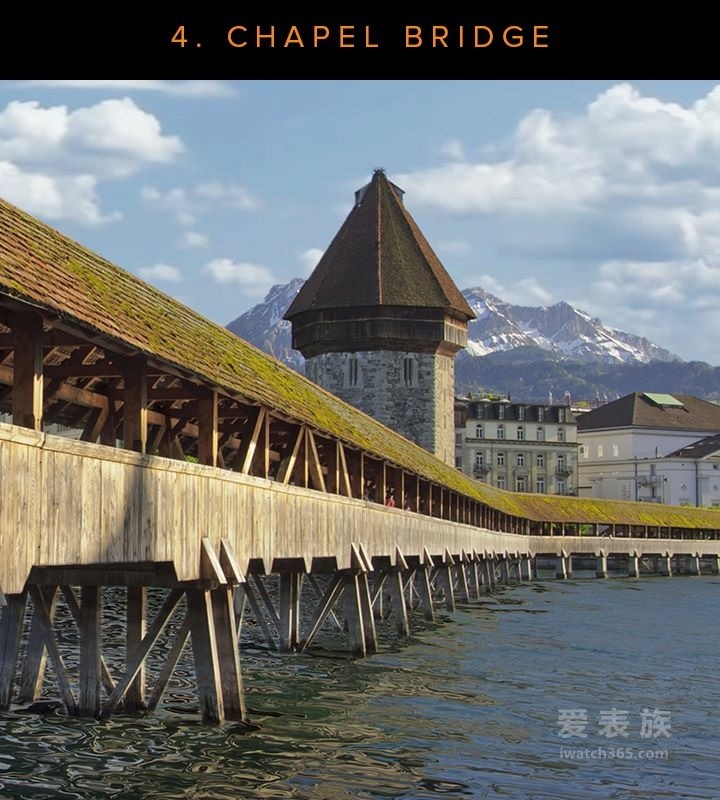 """瑞士美度表""""灵感源于建筑""""全球12城之旅  ——卢塞恩:最文艺之城"""
