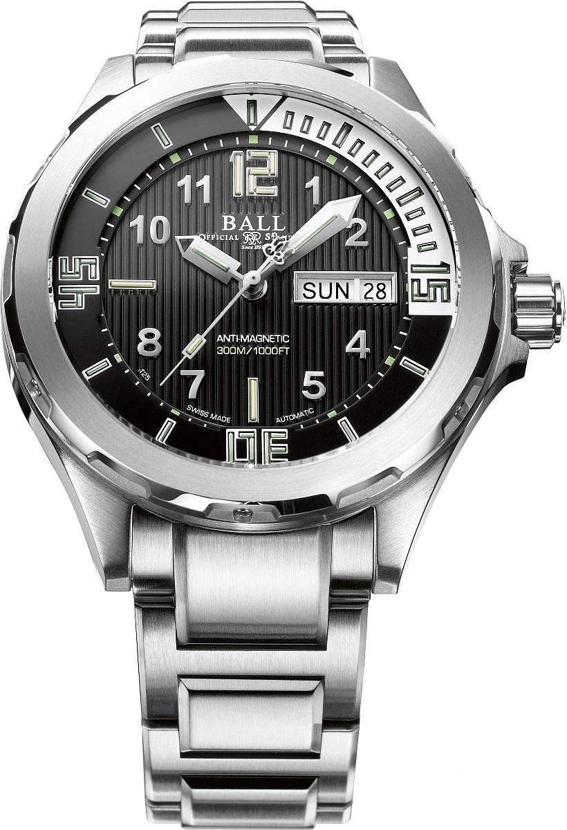 庆祝探险家成员Guillaume Néry刷新深潜126米纪录,波尔BALLWatch推出全新腕表