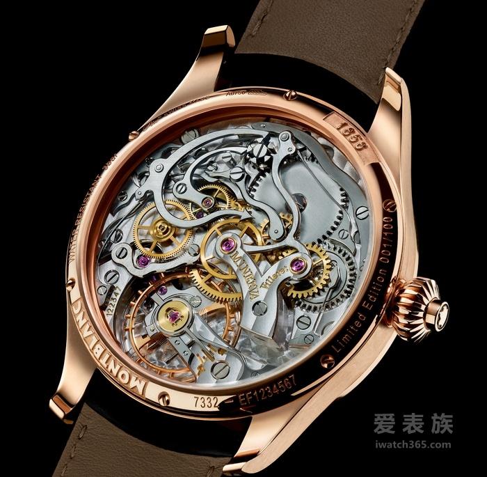 万宝龙1858 系列腕表:蕴含传统精神的卓越之作