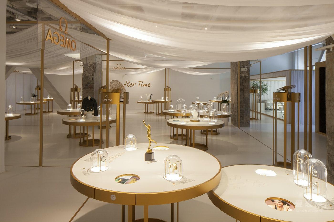 """欧米茄""""她的时光""""女士腕表百年臻品展于上海当代艺术博物馆盛大揭幕"""