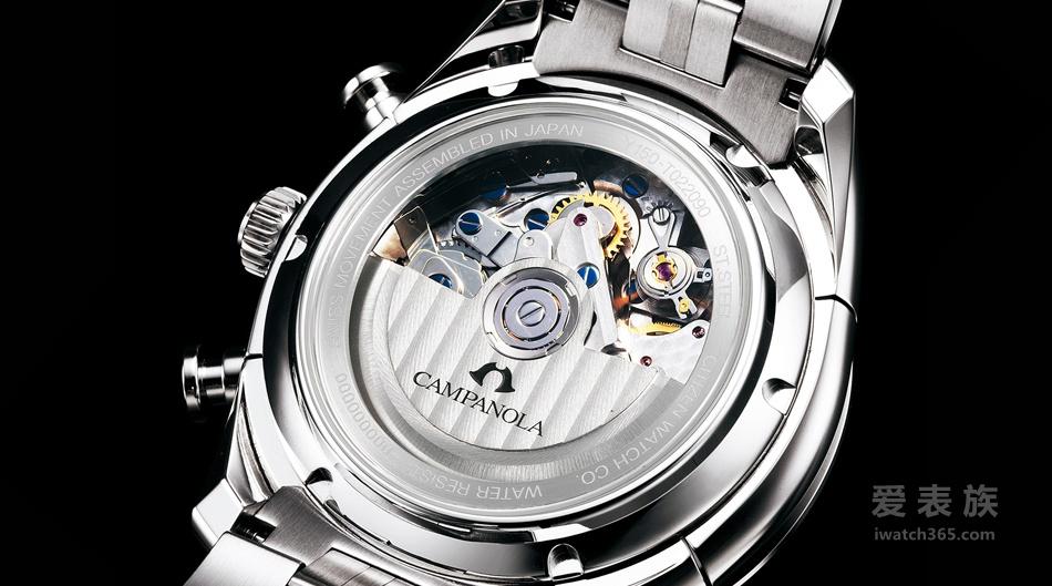和风瑞士芯——西铁城Campanola系列机械计时大日历腕表