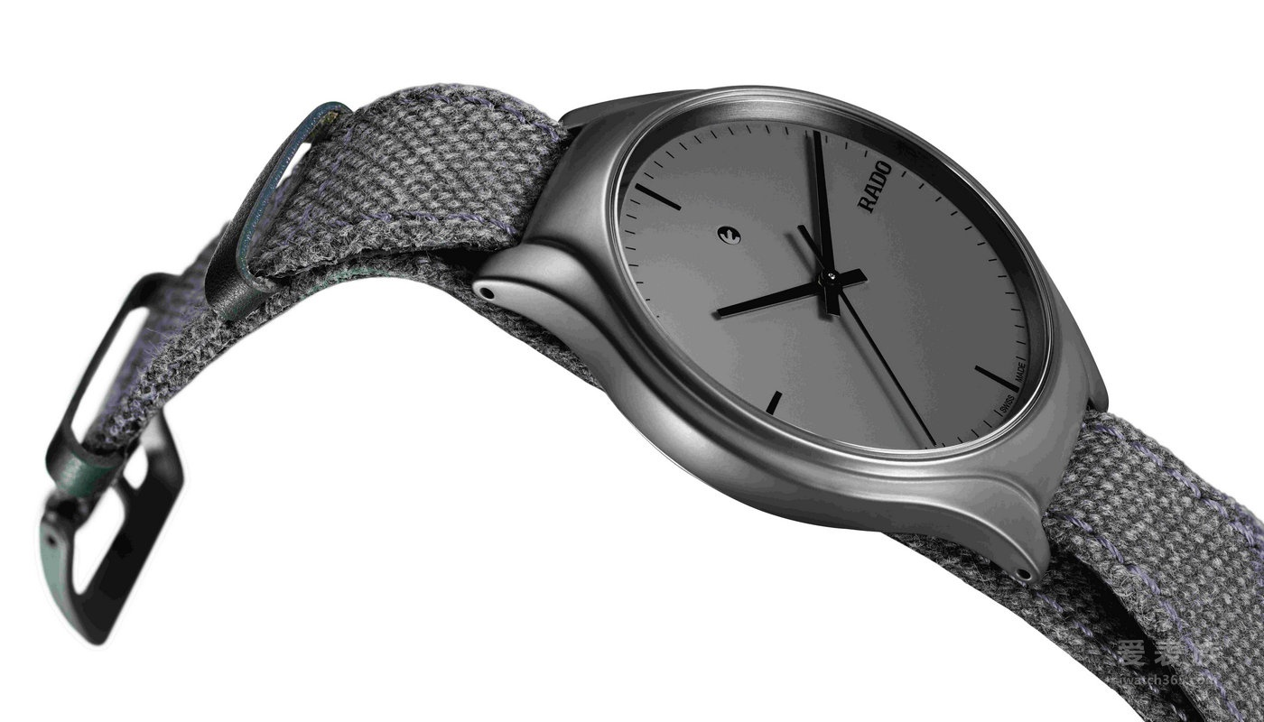 将大胆图形系于腕间:RADO 瑞士雷达表 True 真系列 N25E121 腕表 品牌为庆祝 2016 年台北世界设计之都 (World Design Capital)所发布的第二款专属腕表