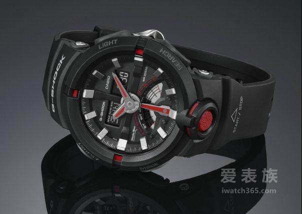 浑圆表壳前卫设计 大展城市时尚运动风:G-SHOCK全新设计 GA-500/500P系列