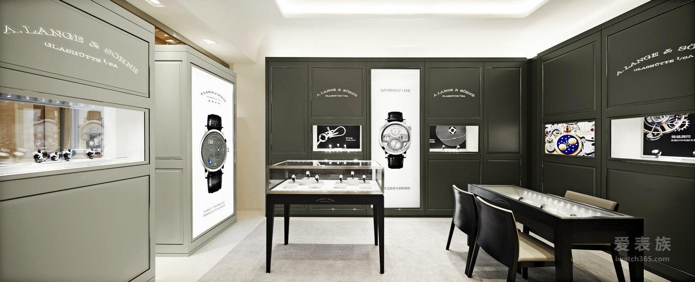 朗格于澳门开设全新专卖店 全新专卖店首次采用耳目一新的设计概念