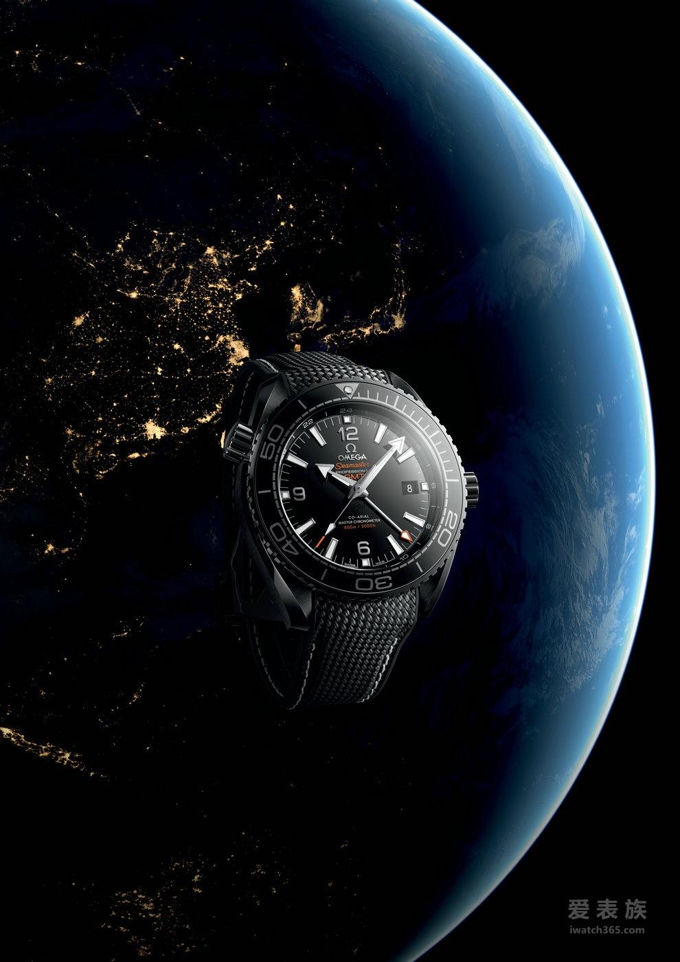 """全新欧米茄海马系列海洋宇宙""""深海之黑""""腕表荣耀上市"""