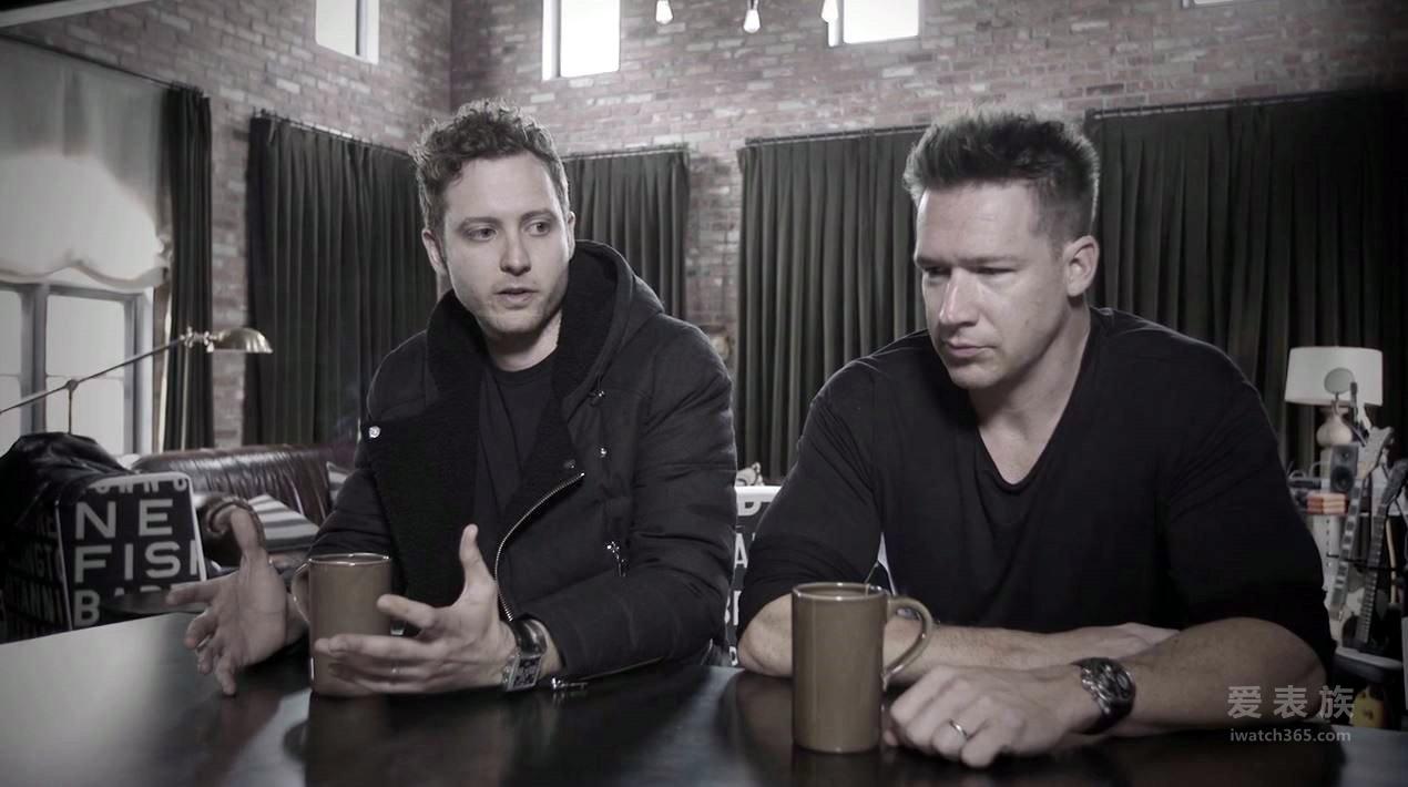 OneRepublic乐队进入TAG Heuer泰格豪雅时间
