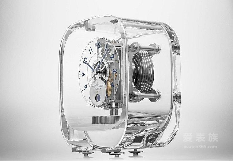 积家Atmos 568-马克·纽森空气钟 纯粹简约的时间艺术