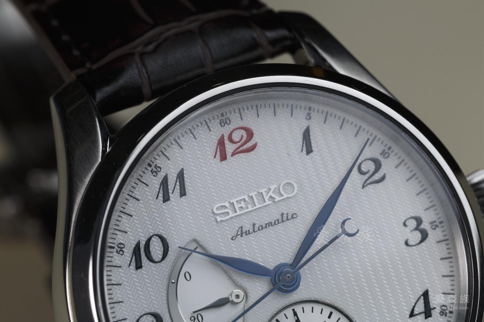 可以的,这很精工——精工Presage系列SPB041J1日历腕表