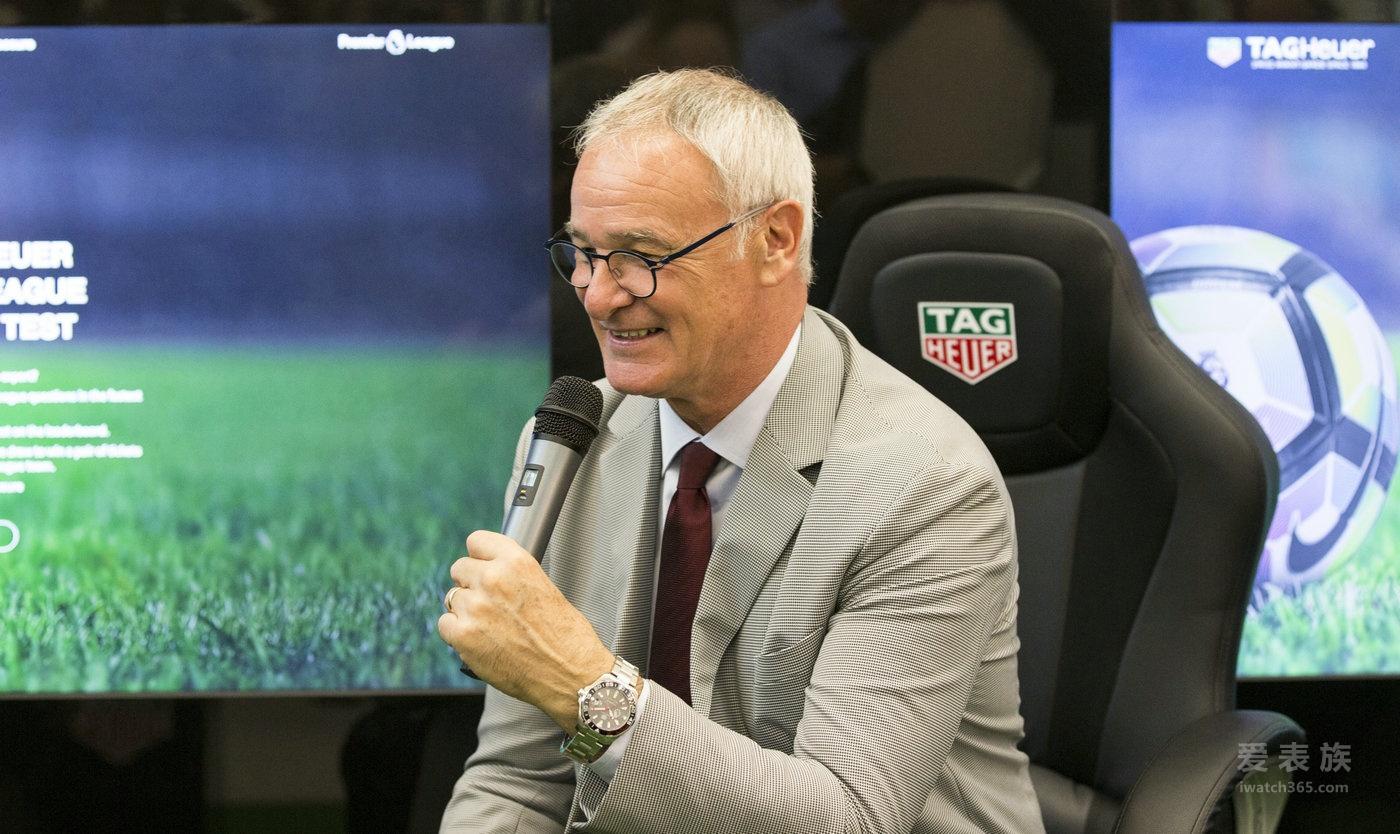 TAG Heuer泰格豪雅荣耀发布英格兰足球超级联赛特别款腕表 完美契合 激情共享
