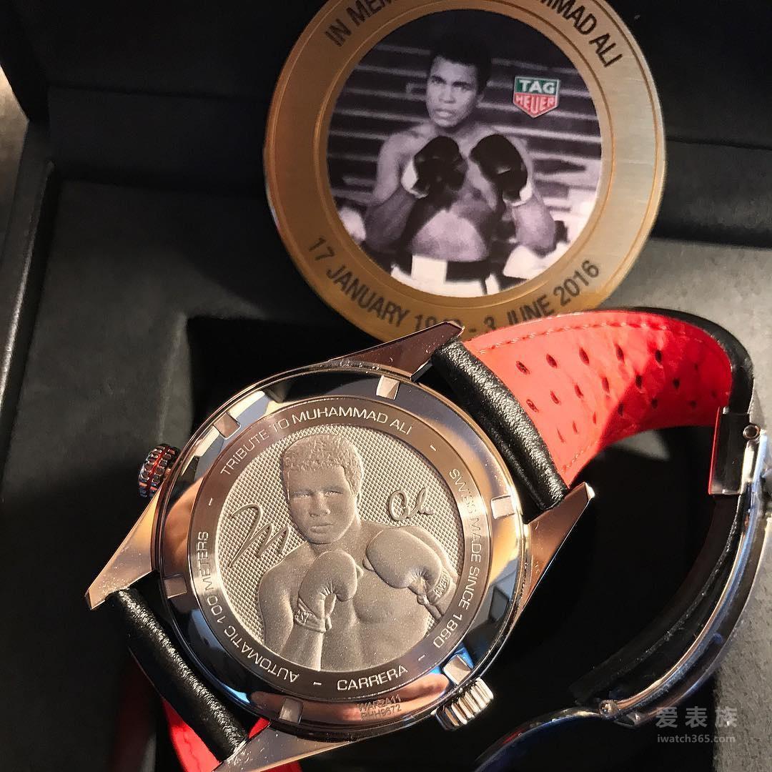 泰格豪雅卡莱拉系列Ring Master穆罕默德·阿里特别款WAR2A11.FC6337腕表