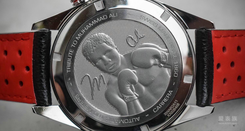 永不言败 成就自我——泰格豪雅卡莱拉系列Ring Master穆罕默德·阿里特别款腕表