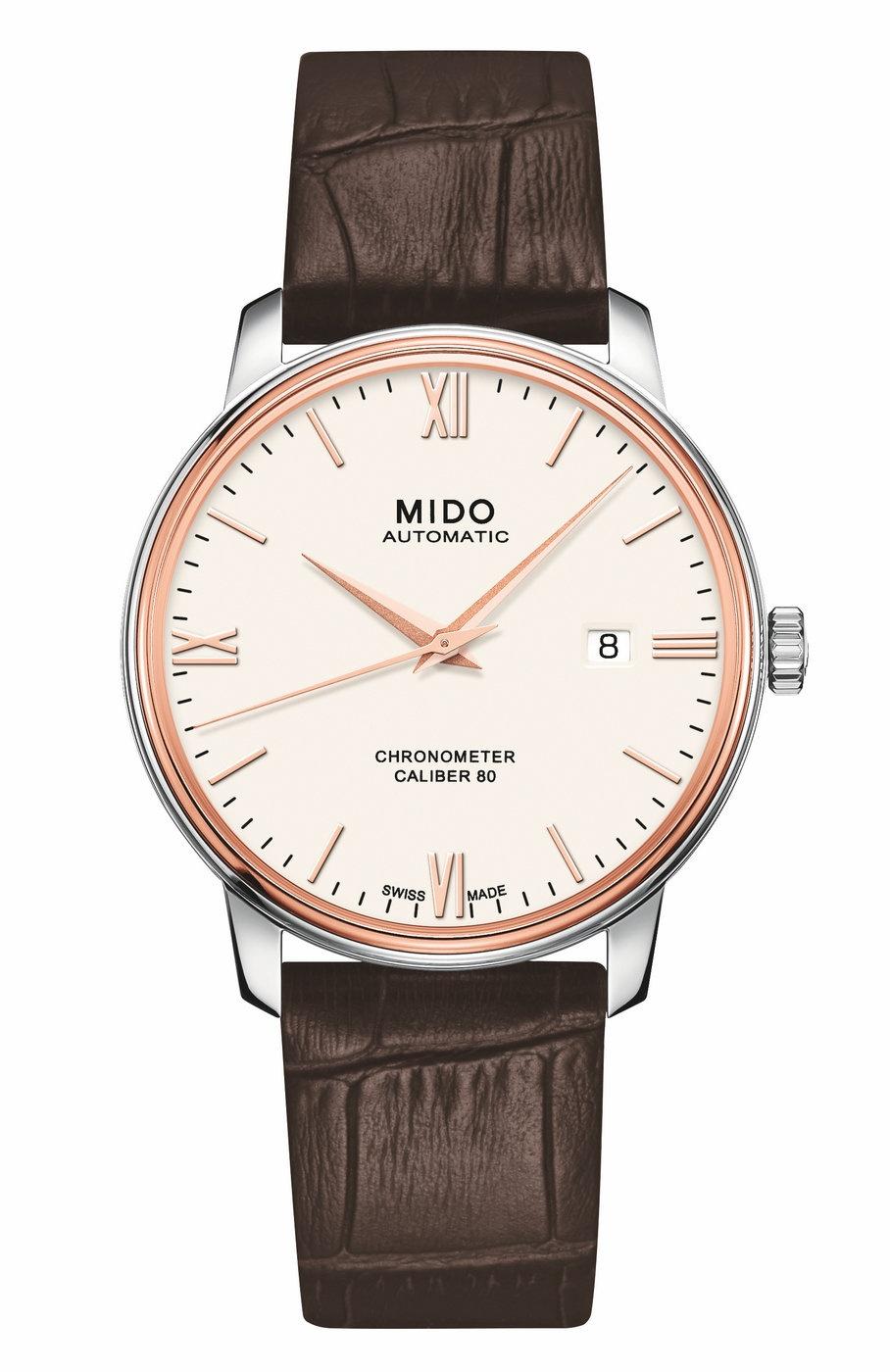 瑞士美度表贝伦赛丽系列腕表上市 首款搭载硅游丝天文台认证Caliber 80长动能存储腕表