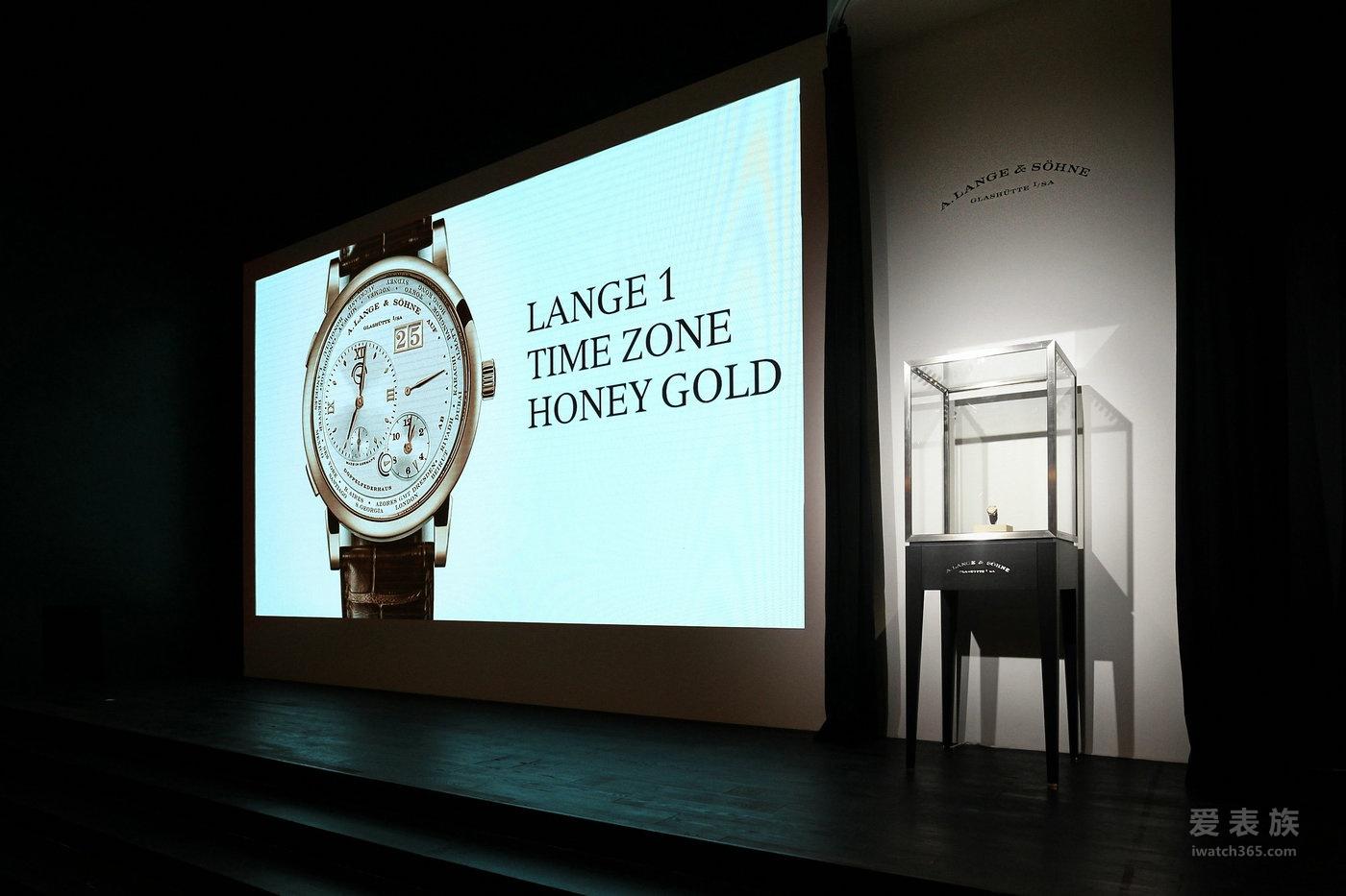 LANGE 1 TIME ZONE 蜂蜜金特别版问世 朗格携手德国国家旅游局呈献德国灵感宝地
