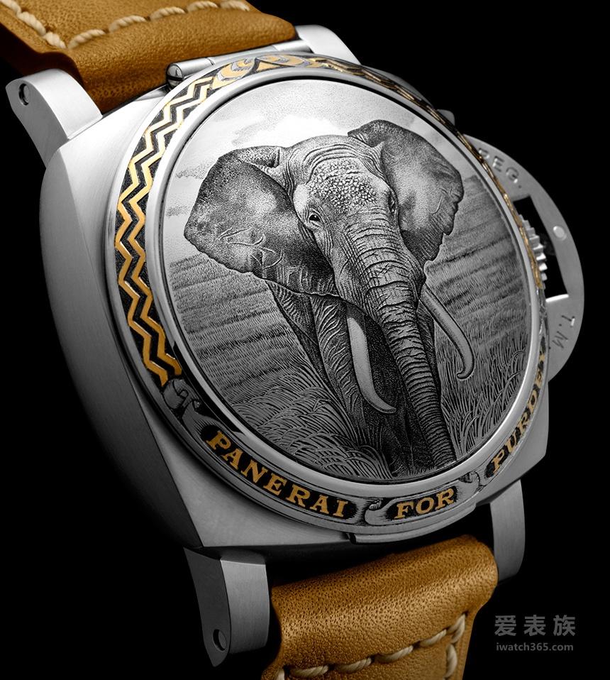 狂野非洲——沛纳海Luminor 1950系列Sealand Purdey腕表