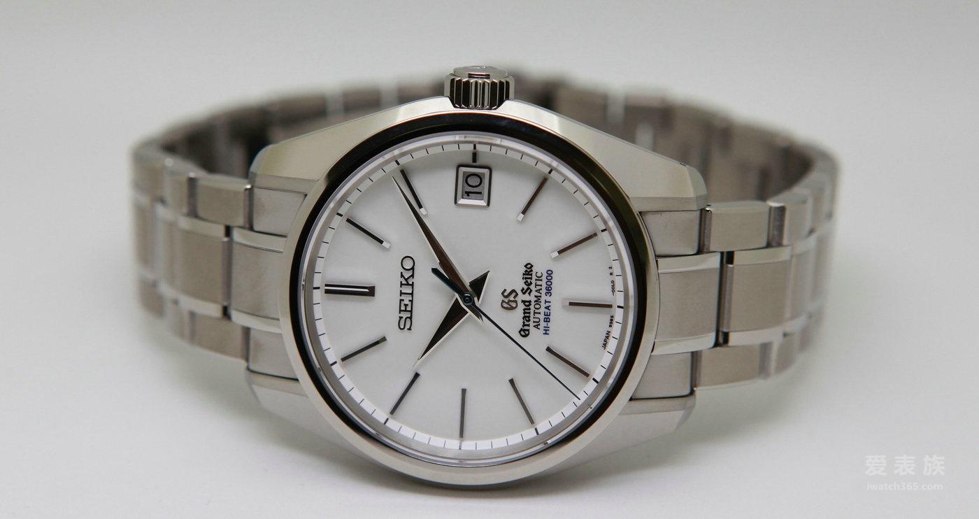 绝对细致的精准时计:Grand Seiko自动上链36000转白钛腕表
