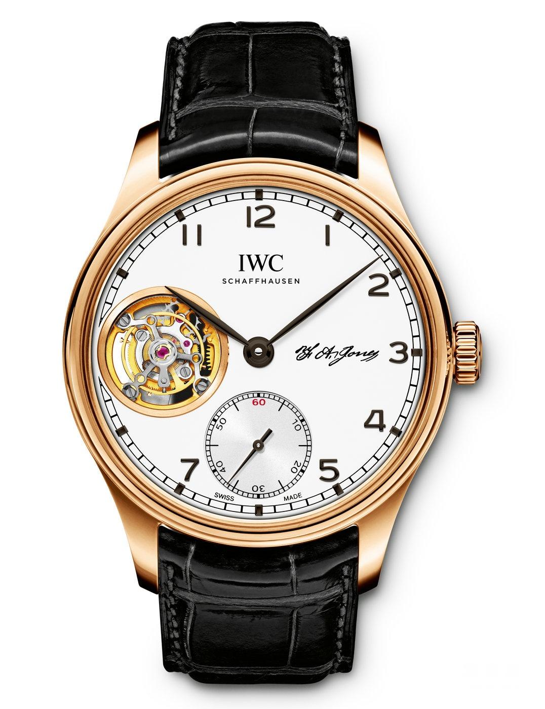 IWC万国表推出葡萄牙系列陀飞轮手动上链特别版腕表 致敬品牌创始人琼斯先生
