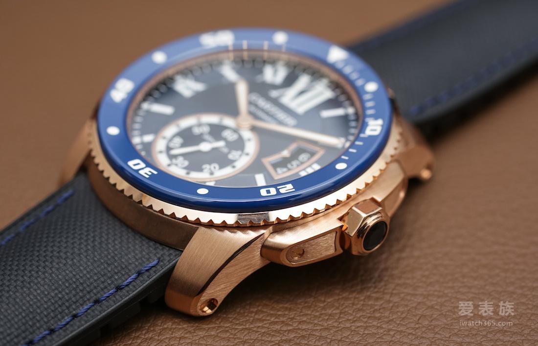 蓝盘卡历博——卡地亚Calibre De Cartier系列潜水腕表