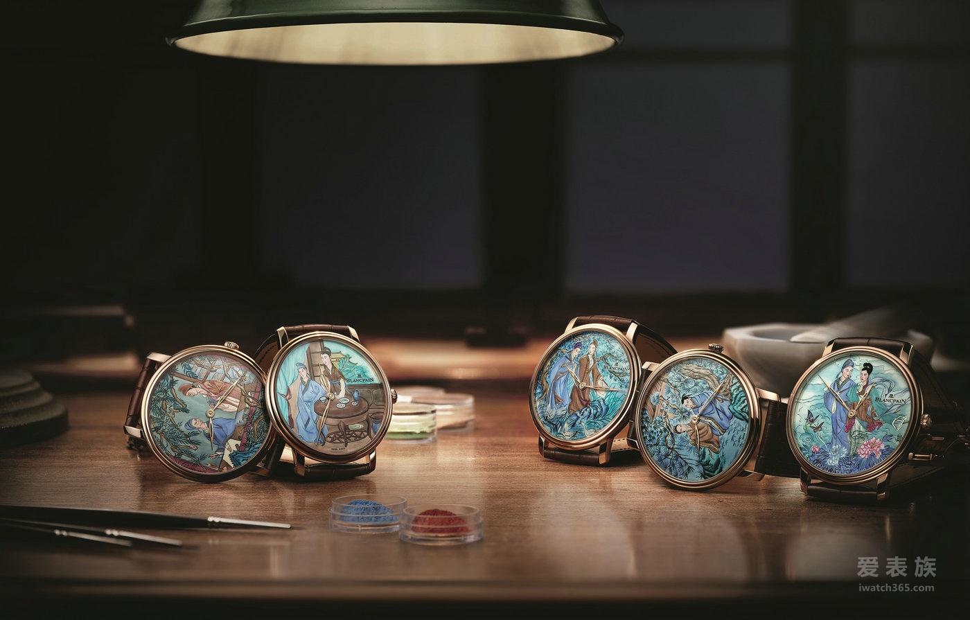 宝珀Blancpain美学三部曲之表盘上的画作