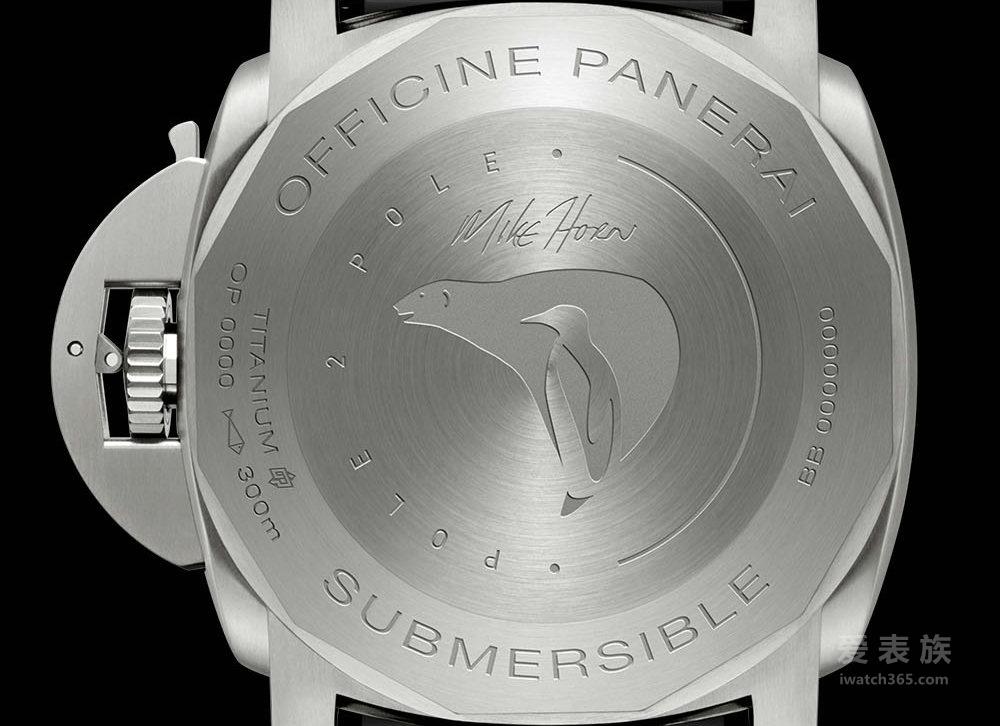 为探险而生——沛纳海Luminor 1950系列'Pole2Pole'3日链GMT专业潜水自动腕表