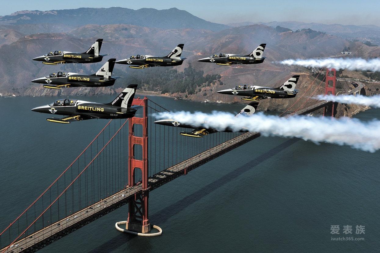 百年灵喷气机队美国之行荣耀落幕