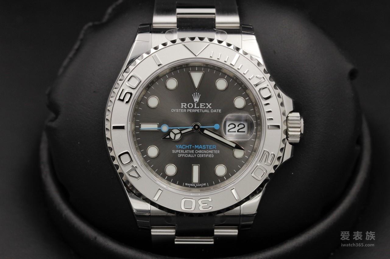 灰色魅影 - 劳力士新款游艇名仕型40毫米深铑灰色腕表REF.116622