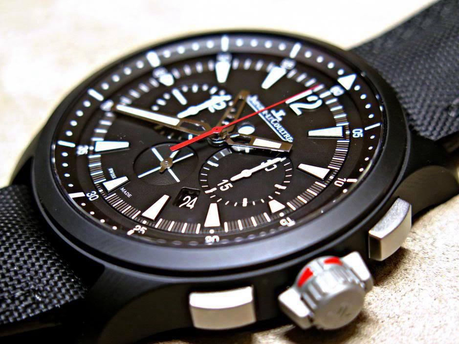 环球健将---积家Master Compressor陶瓷计时腕表