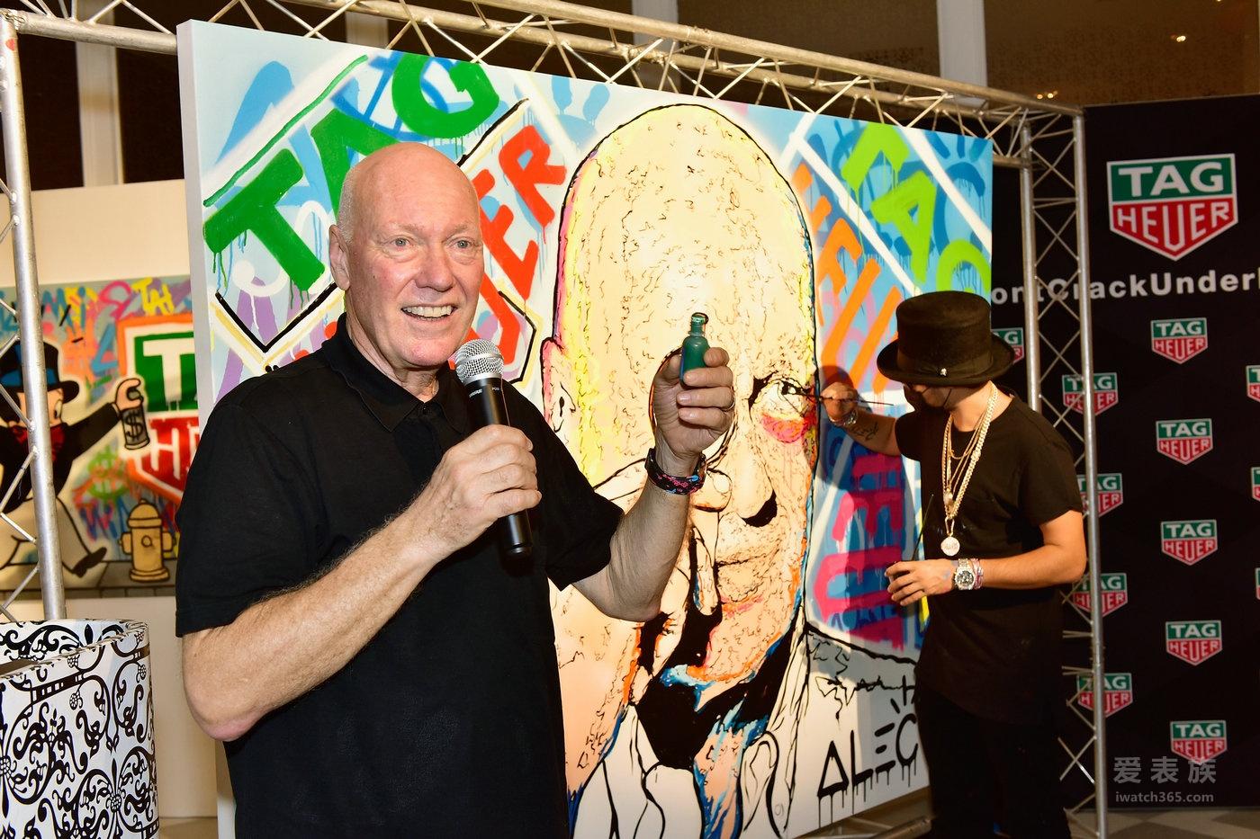Alec Monopoly成为TAG Heuer泰格豪雅先锋艺术家!