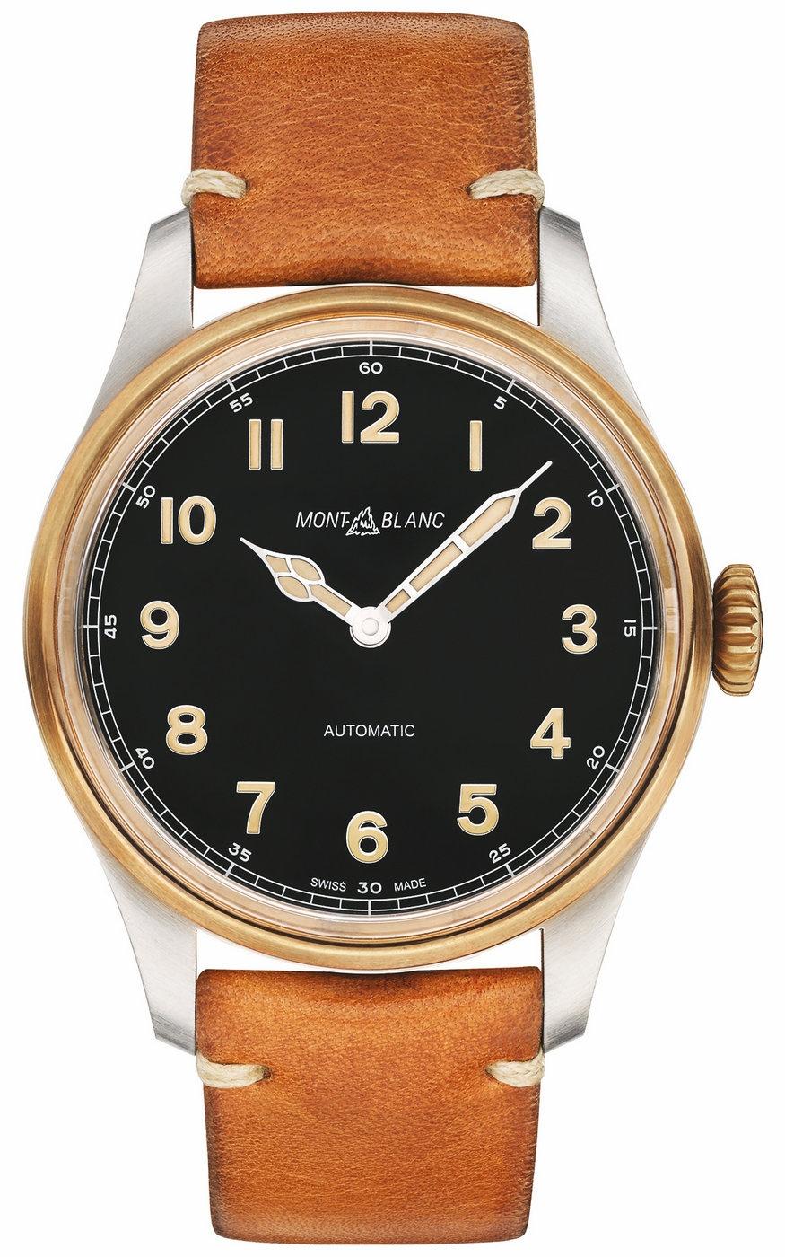 打造非凡复古风范 万宝龙以青铜元素全新演绎1858系列腕表