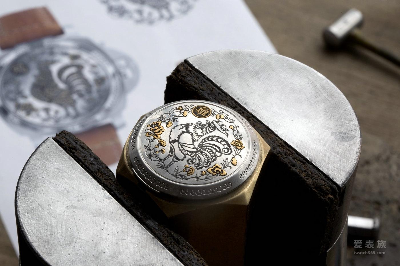 沛纳海 全新鸡年生肖腕表