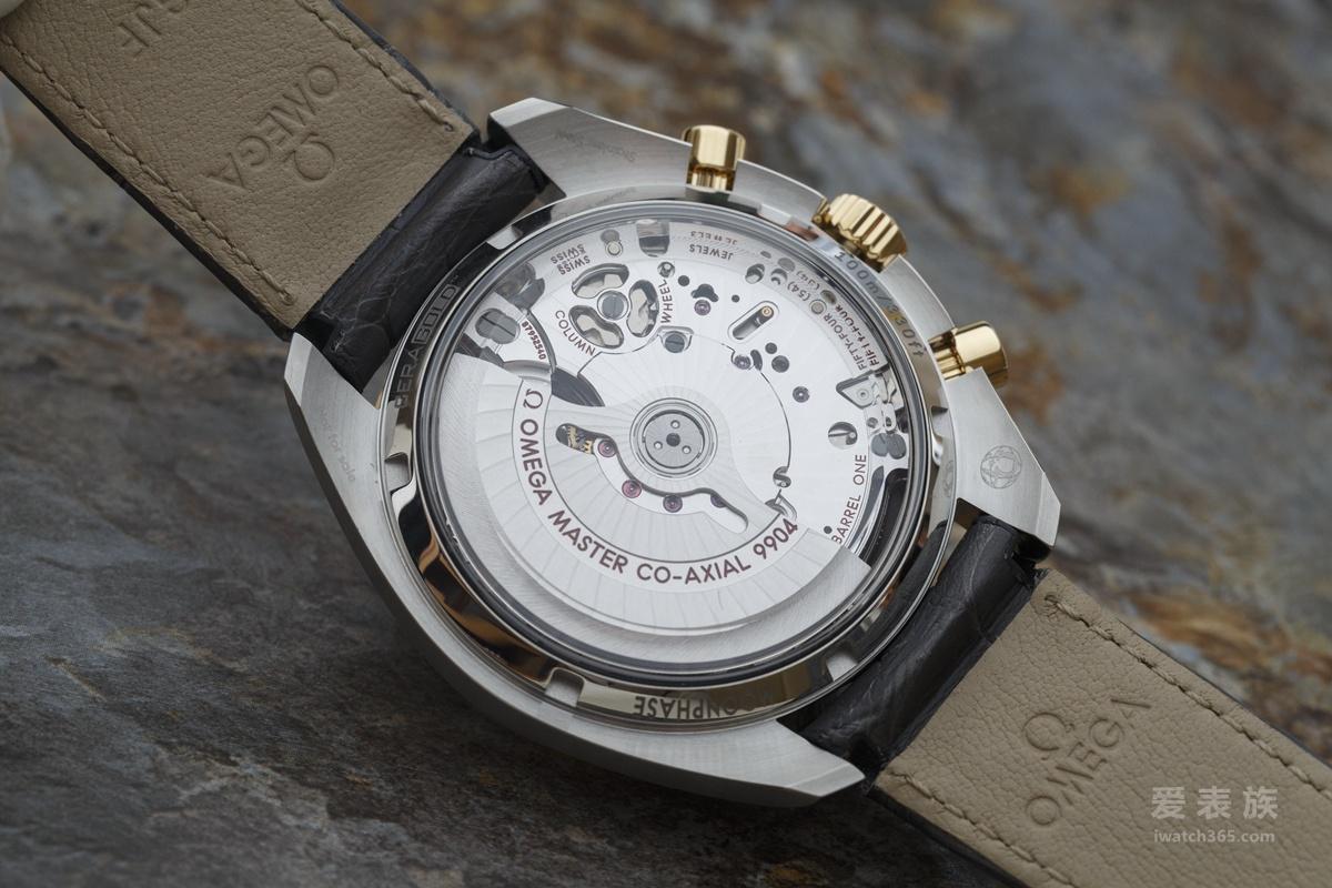 欧米茄的一抹绿---绿陶瓷圈金钢款月相至臻天文台计时腕表