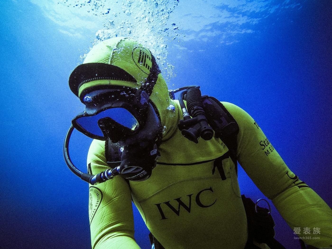 """IWC万国表海洋时计与""""海洋王者""""面对面"""